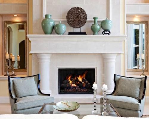 Fireplace Decorating  Houzz