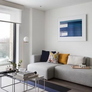 contemporary design ideas living room cabinets for designs 75 most popular 2019 inspiration a in london with white walls and brown floors