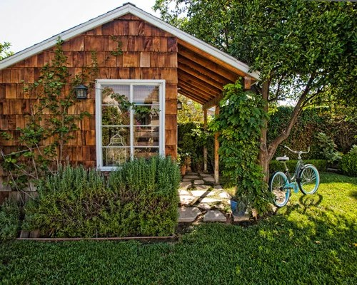 Backyard Shed Home Design Ideas, Pictures, Remodel and Decor