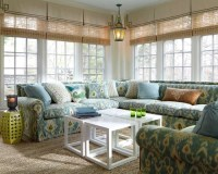 Sunroom Window Treatment