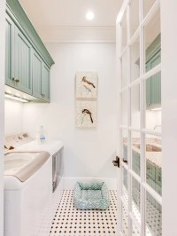 Traditional Galley Laundry Room Design Ideas, Remodels ...