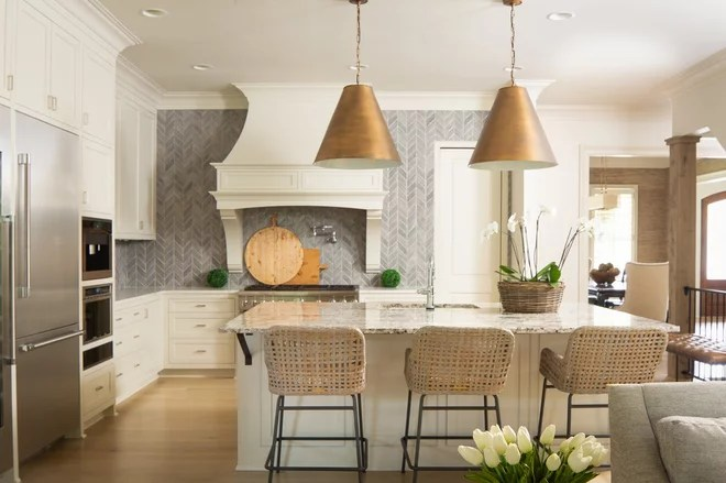 Farmhouse Kitchen by New River Building Co.
