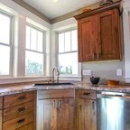 Maple Cabinetry  ContemporaryFarmhouse Style  Rustic