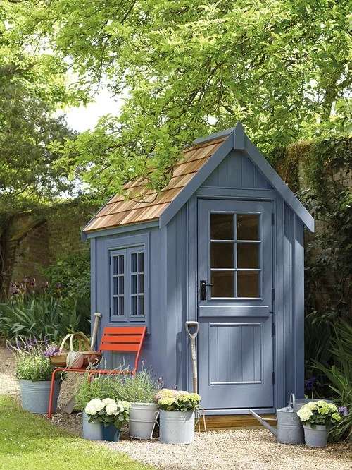 Garden Shed Doors Houzz