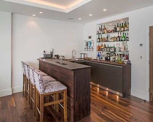 Contemporary Home Bar Design Ideas Remodels & Photos