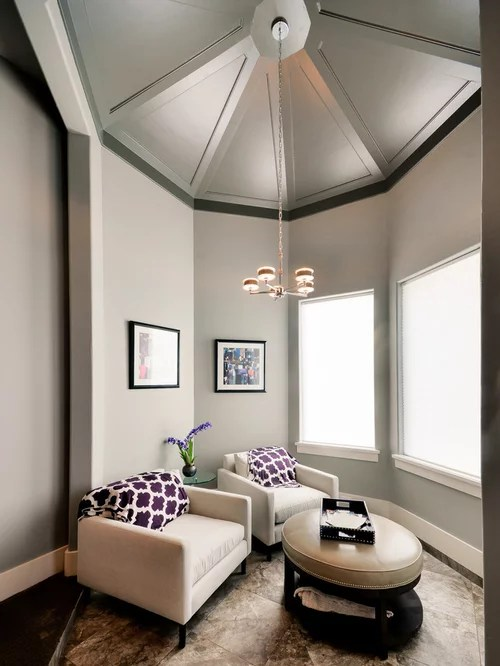Fireplace Houston Octagonal Ceiling Home Design Ideas, Pictures, Remodel And