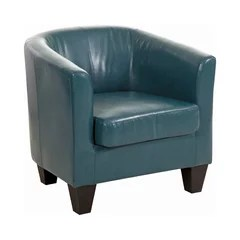 turquoise accent chairs natural gear chair 50 most popular armchairs and for 2019 houzz grafton home ellen bonded leather tub peacock