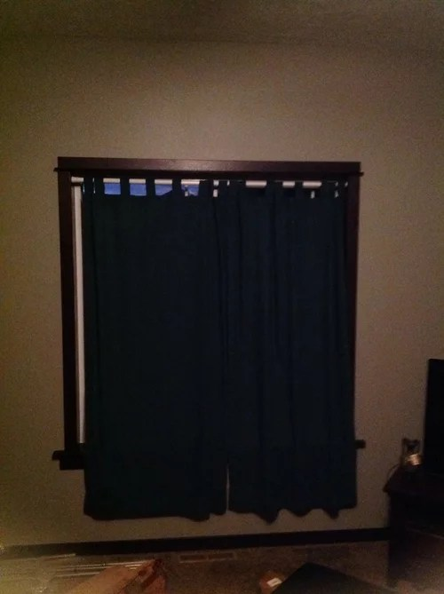 i hang my curtain rods 9 ft ceilings