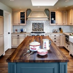 Kitchen Island Dimensions Cabinets In Stock Walnut Butcher Block Countertop | Houzz