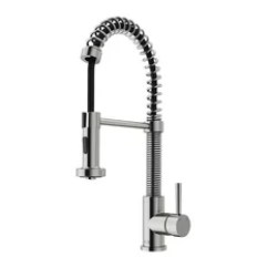 Stainless Steel Kitchen Faucets Storage Shelf 50 Most Popular For 2019 Houzz Vigo Pull Out Spray Faucet Without Extras