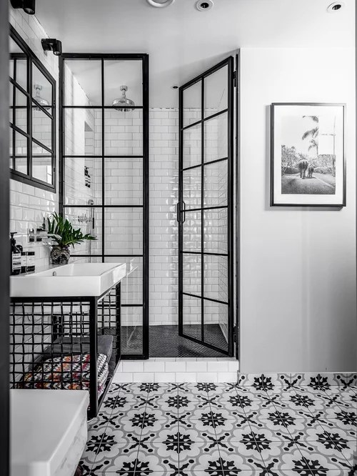 30 Trendy Industrial Bathroom Design Ideas Pictures Of