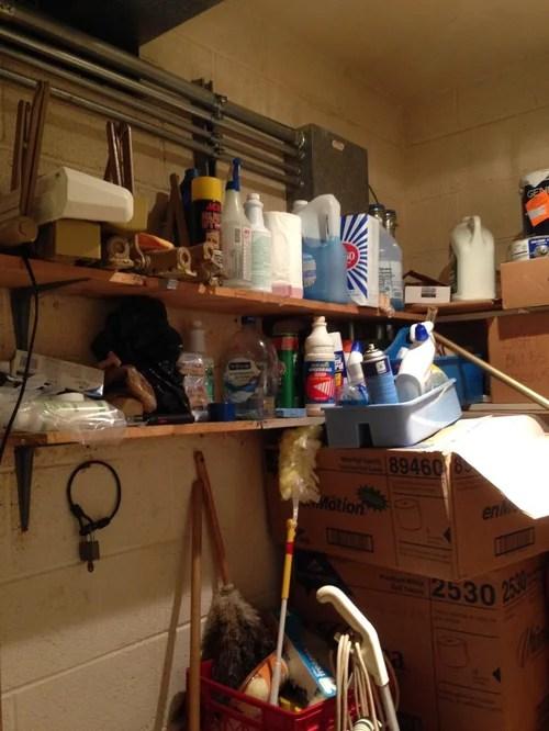 amazing janitor closet organization  Home Decor