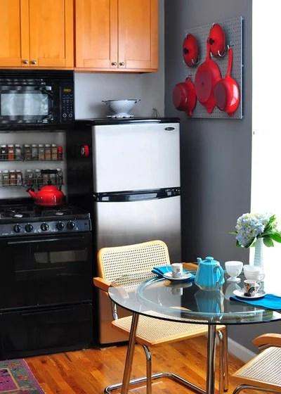 Eclectic Kitchen by Scheer & Co. Interior Design