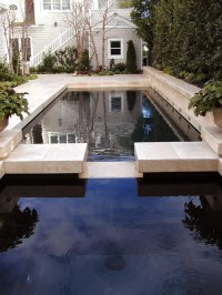 Black Bottom Pool | Houzz