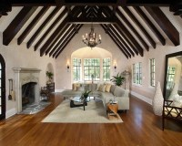 Cathedral Ceiling Living Room Ideas & Photos