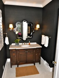 Black And Tan Bathroom Home Design Ideas, Pictures ...