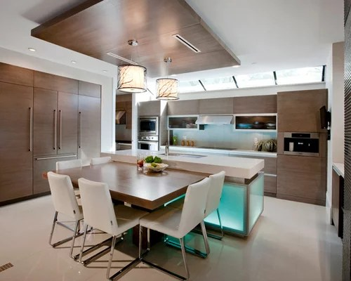 kitchen table island combo laminate cabinets combination home design ideas, pictures ...
