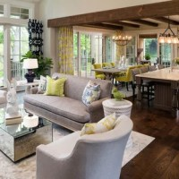 75 Most Popular Transitional Living Room Design Ideas for ...