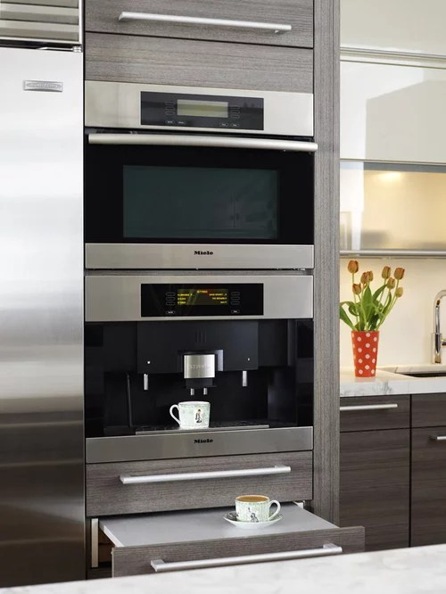 Best Built In Coffee Maker Design Ideas  Remodel Pictures
