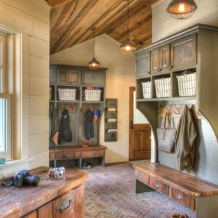 75 Beautiful Rustic Entryway Pictures Amp Ideas Houzz