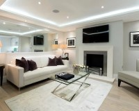 Cream Living Room | Houzz