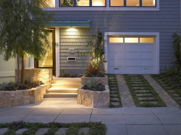 Driveways With Contemporary Curb Appeal