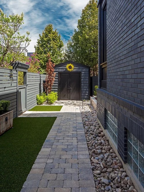 side yard landscape ideas design
