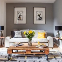 Grey Yellow Living Room Design Tiles Gray And Houzz