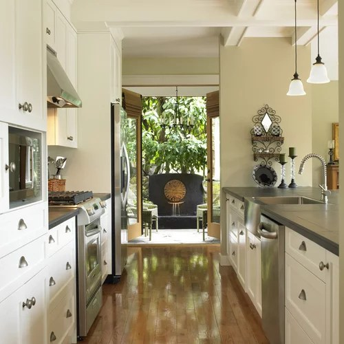 undermount farmhouse kitchen sink replacing faucet wide galley ideas, pictures, remodel and decor