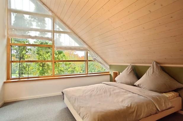 Schlafzimmer mit Dachschrge gestalten 8 Tipps
