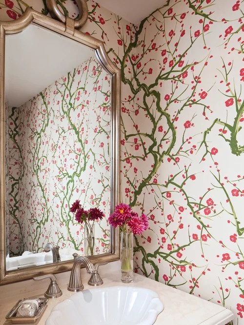 Cherry Blossom Wallpaper  Houzz