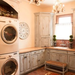 Cost To Have Kitchen Cabinets Painted Portable Island With Granite Top Vintage Laundry Room | Houzz