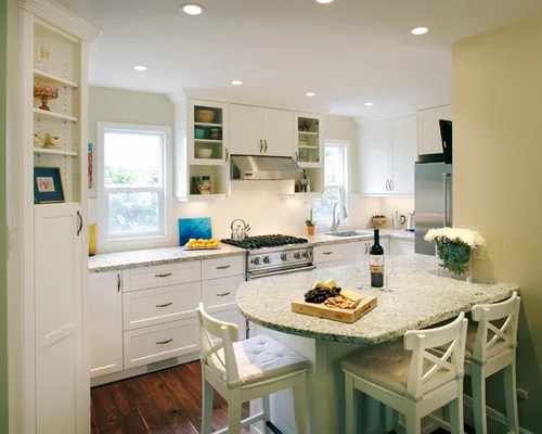 Small Kitchen Peninsula Ideas Pictures Remodel and Decor