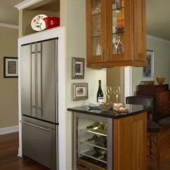 Stand Alone Kitchen Pantry Sink Cabinet Size Stand-alone Refrigerator Ideas, Pictures, Remodel And Decor