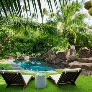 popular tropical landscaping