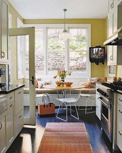 Kitchen Amp Dining Room Seating Consider A Banquette