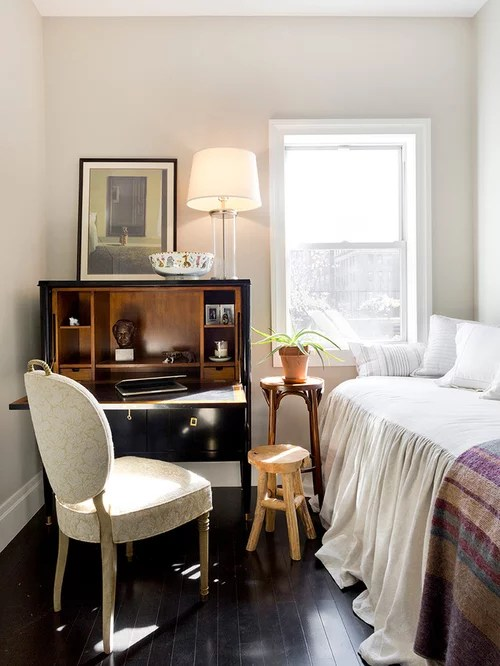 Small Traditional Bedroom Design Ideas Remodels  Photos  Houzz
