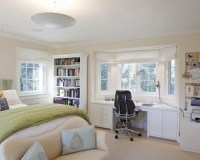 Bay Window Desk Home Design Ideas, Renovations & Photos