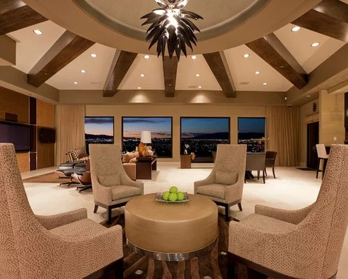 contemporary living room ideas on a budget modern table radial balance ideas, pictures, remodel and decor