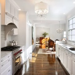 Compact Appliances For Small Kitchens Rolling Kitchen Island Cart Ikea White Galley | Houzz