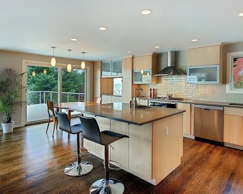 Blonde Cabinets Home Design Ideas Pictures Remodel And Decor
