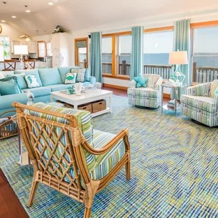 living room ideas with turquoise walls french country paint colors 75 most popular design for 2019 coastal medium tone wood floor and brown photo in other white