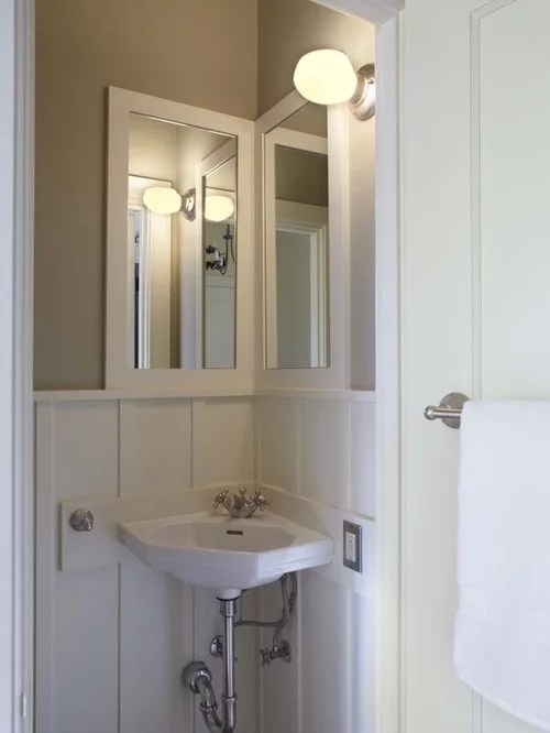 Corner Sink And Mirror Home Design Ideas Pictures