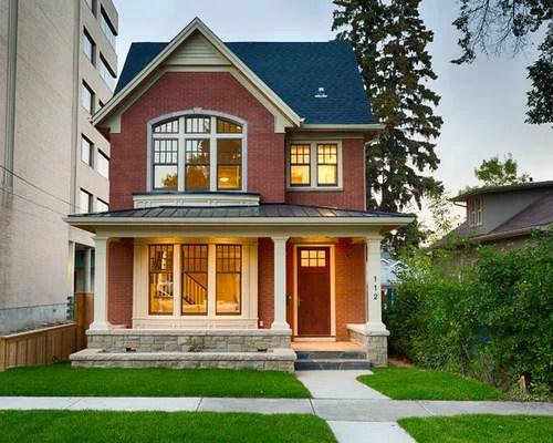 Red Brick House Houzz