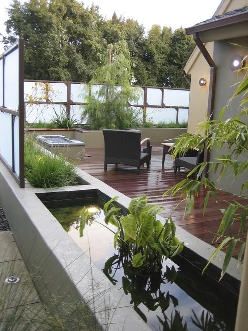 Raised Pond Home Design Ideas Pictures Remodel and Decor