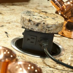 Pop Up Electrical Sockets For Kitchens Backsplash Kitchen Ideas Pop-up Outlet Ideas, Pictures, Remodel And Decor