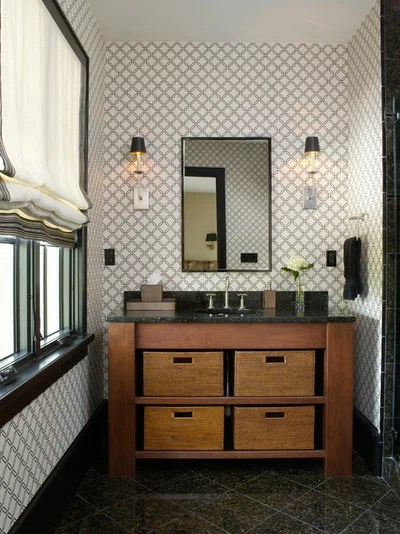 Traditional Bathroom by Gridley + Graves Photographers