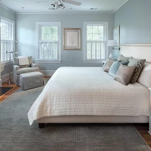 Blue Grey Walls Bedroom Ideas And Photos Houzz