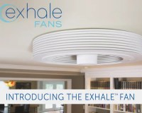 Exhale Fans - First truly bladeless ceiling fan.