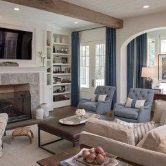Gray And Turquoise Living Room Decorating Ideas Accent Tables 75 Most Popular Traditional Design For 2019 Inspiration A Timeless Dark Wood Floor Brown Remodel In Atlanta With